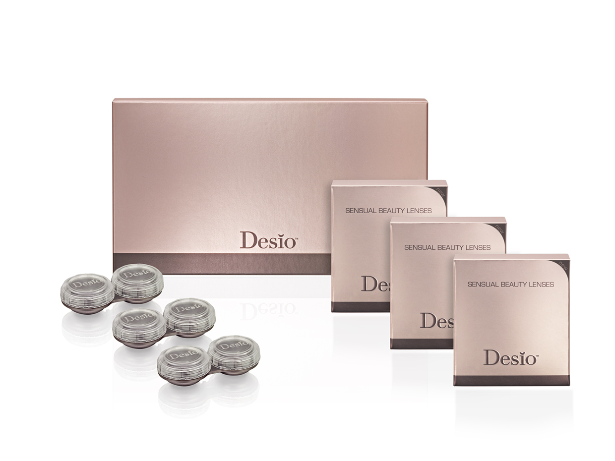 DESIO sensual beauty lenses pack of 3